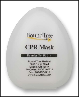 CPR Face Mask With Case
