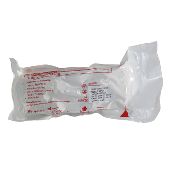 "6"" Single Pad Emergency Bandage"