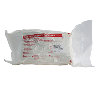 "8"" Abdominal Emergency Bandage with 12""x12"" ab pad"